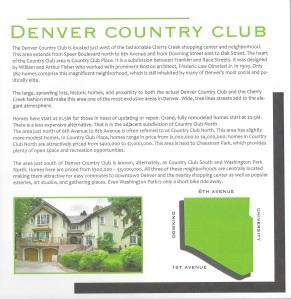 Denver Counrty Club